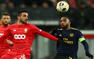 Standard Liege vs Arsenal